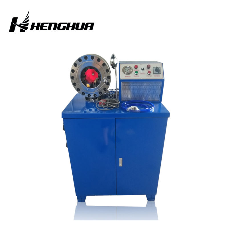 "DSG250-1 hose skiving machine dx68 hydraulic crimping with 10 dies dx-68(1/4""~2"")high accuracy low price"