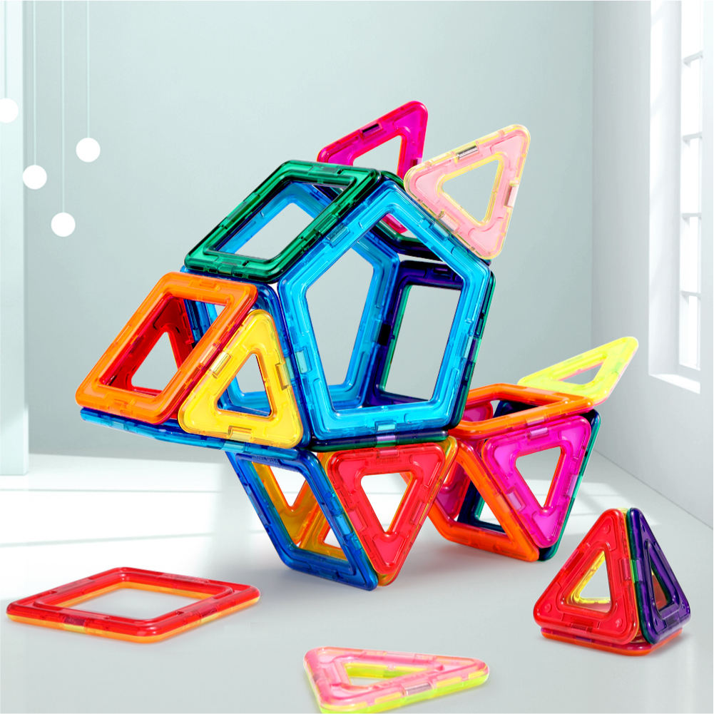 Potential toys for kids Magnetic Building Tiles 3D Blocks DIY Educational Toys toys games 120PCS