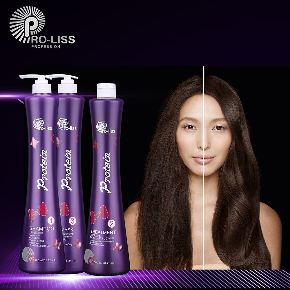 Pro-liss 0% Formaldehyd Professionelle Pro Tech Violet <span class=keywords><strong>Protein</strong></span> 1000ml Brasilianische Richt Behandlung <span class=keywords><strong>Keratin</strong></span> Für <span class=keywords><strong>Haar</strong></span>