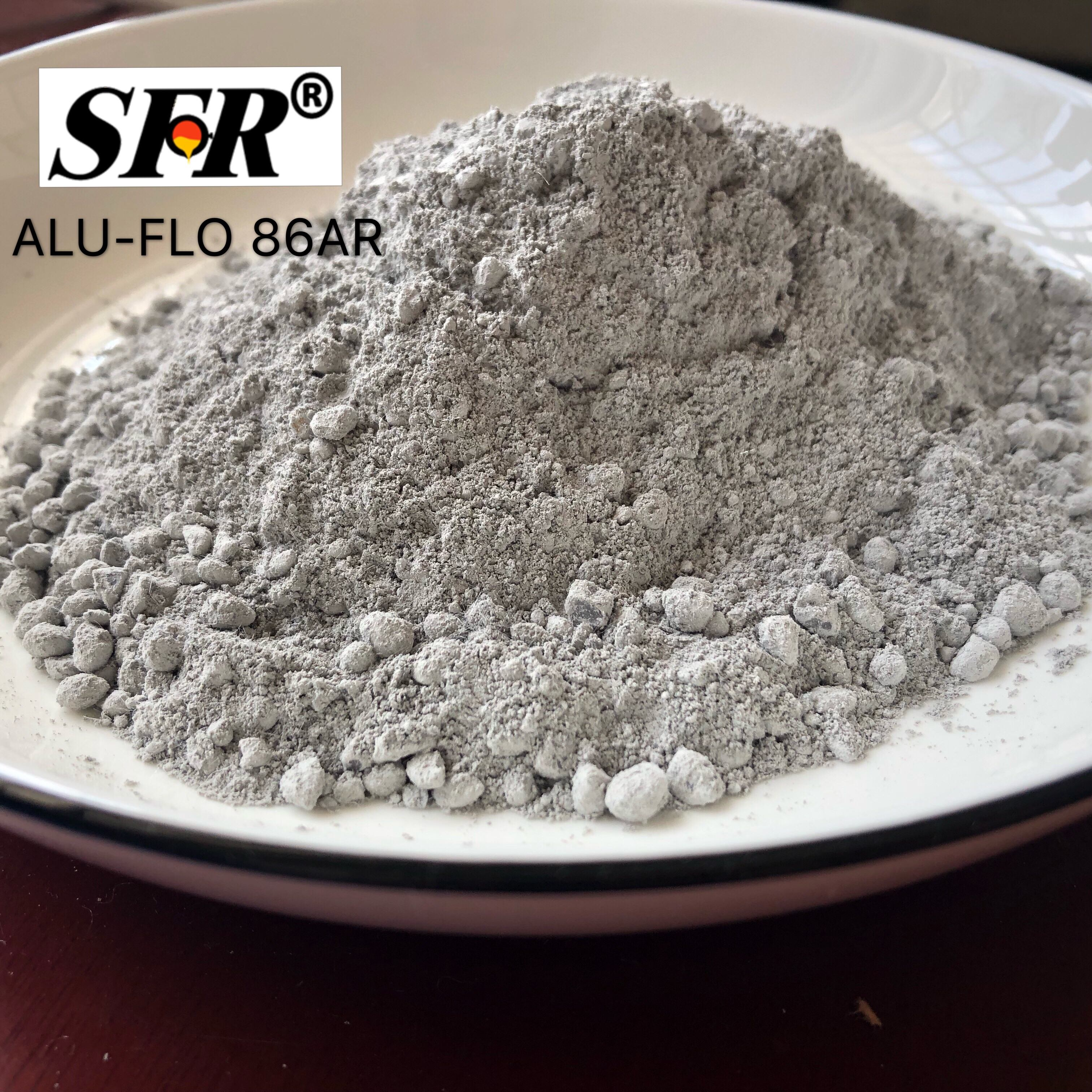 ALU-FLO 86ARl China Supplier Refractory High Aluminium Lining material for aluminium melting and holding furnaces