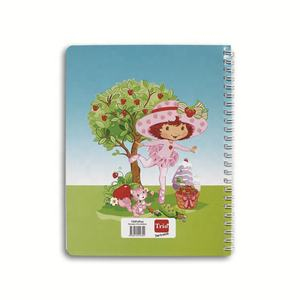 A4 200 pages recycle paper line hardcover spiral notebook for school notebook