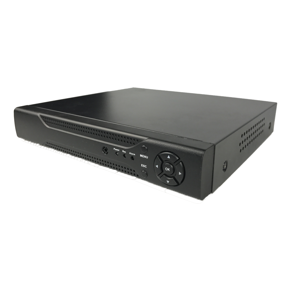 1 SATA H.265 4ch Analog HD DVR T Series