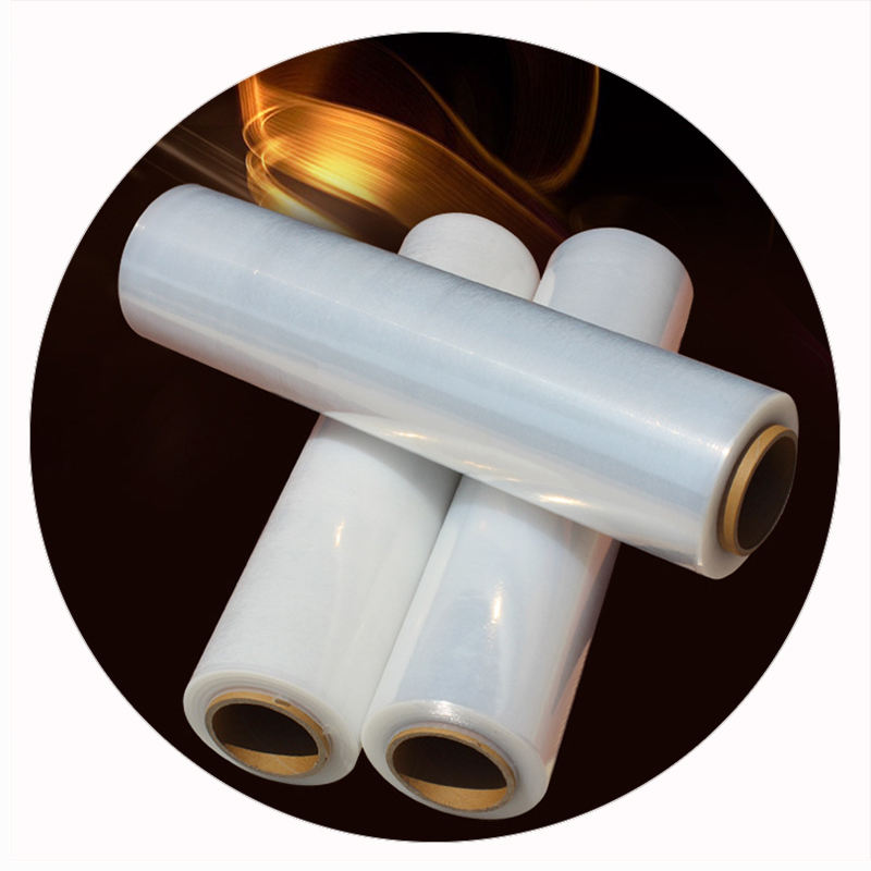 PE Self Adhesive Clear Static Transparent Stretch Film