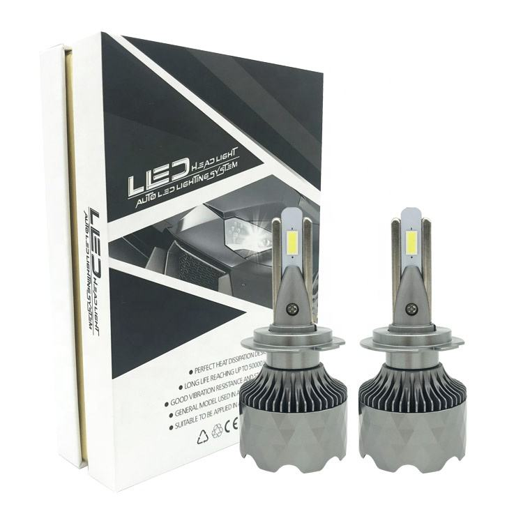 Hot selling factory aftermarket universal replacement modified swift super bright bulb auto japan H7 cars led head lights