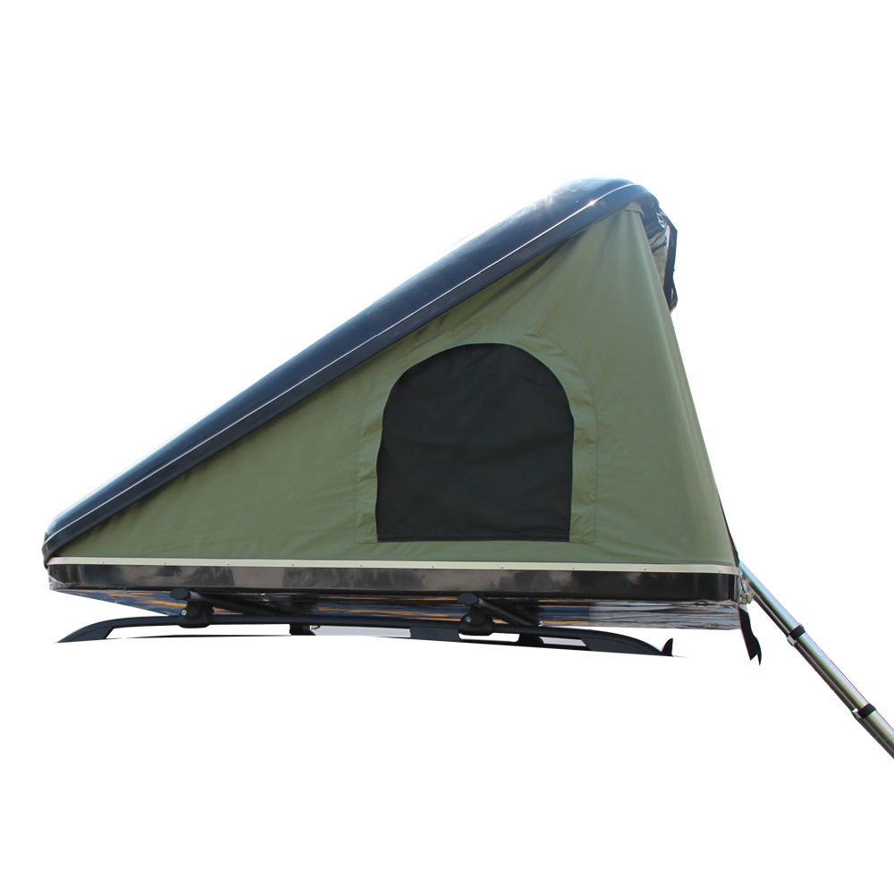 Factory supply waterproof automatic hard shell roof top tent with window