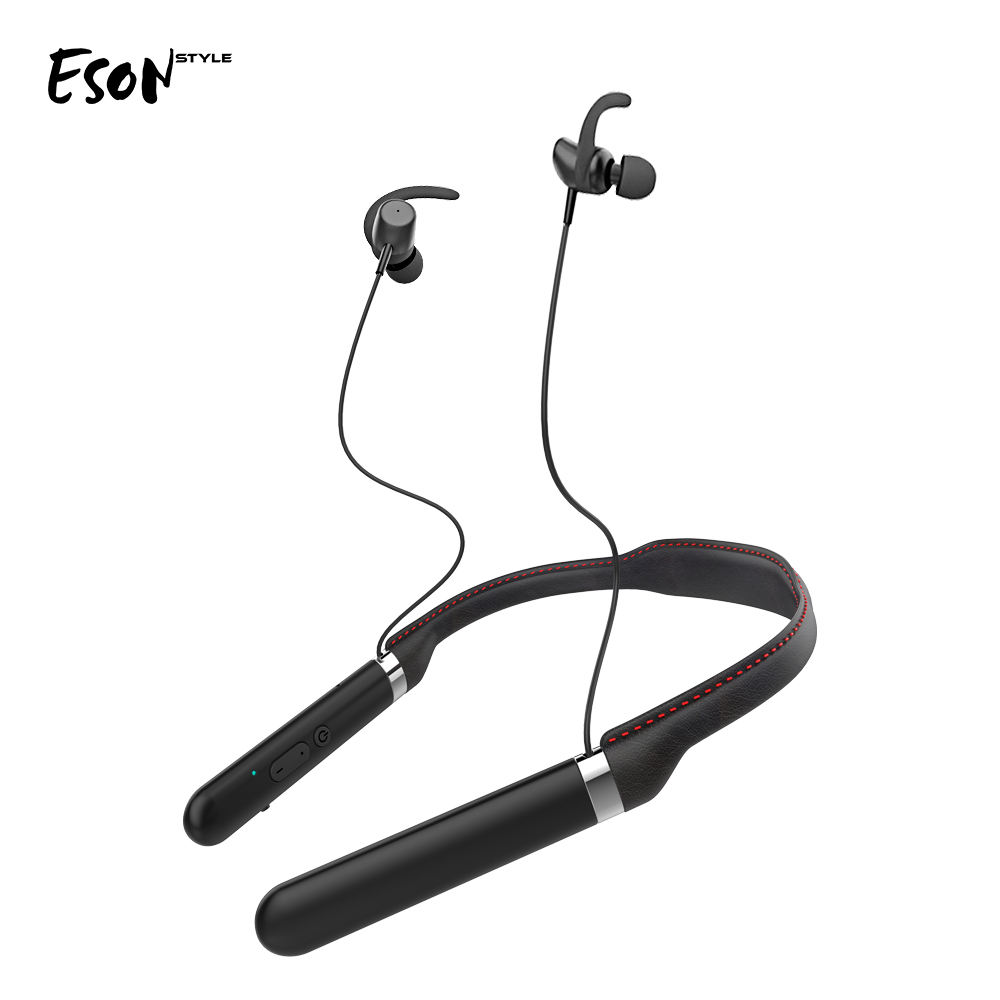 Eson Style Free Shipping truly wireless Stereo shenzhen factory OEM neckband headphone Bluetooth Headset with In-Ear earphone