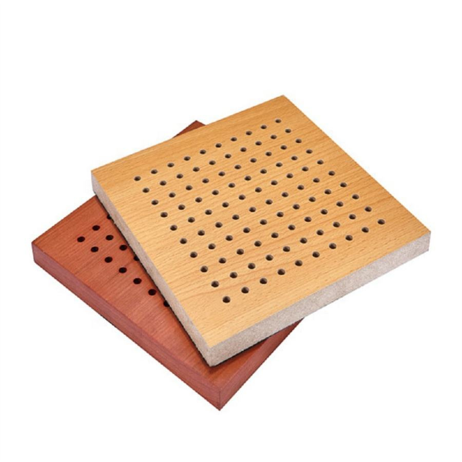 Mall [ Sound Absorbing ] Acoustic Wall Leeyin Acoustic Project Sound Absorbing Wall Halls Wooden Acoustic Panel