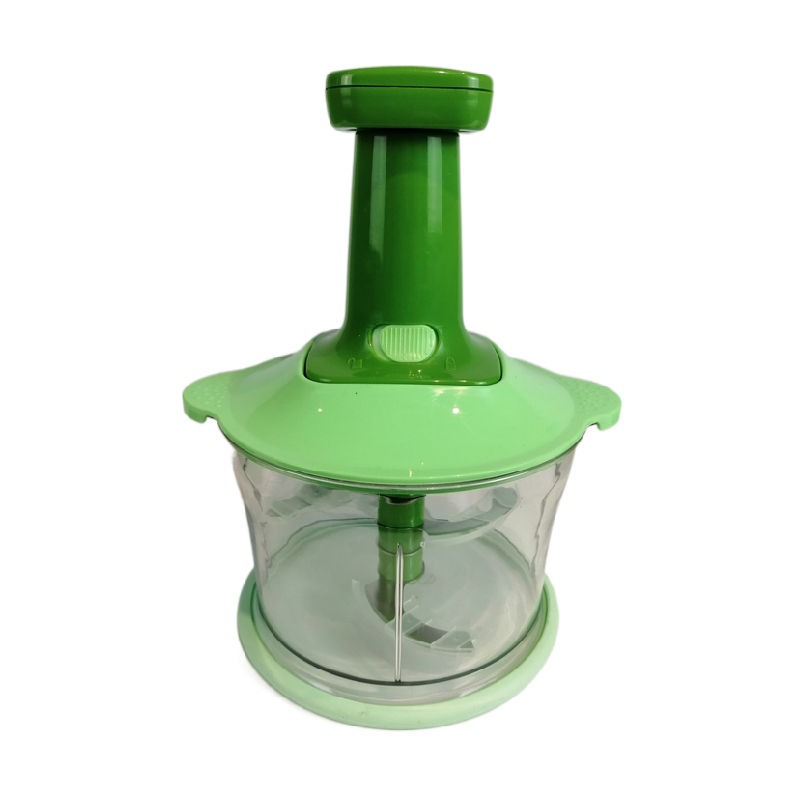 Hand Press Garlic Food Chopper Manual Slicer Kitchen Cutter Vegetable Meat Chopper Food Processor