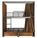 Bunk bed with wood plate bunk beds with certain