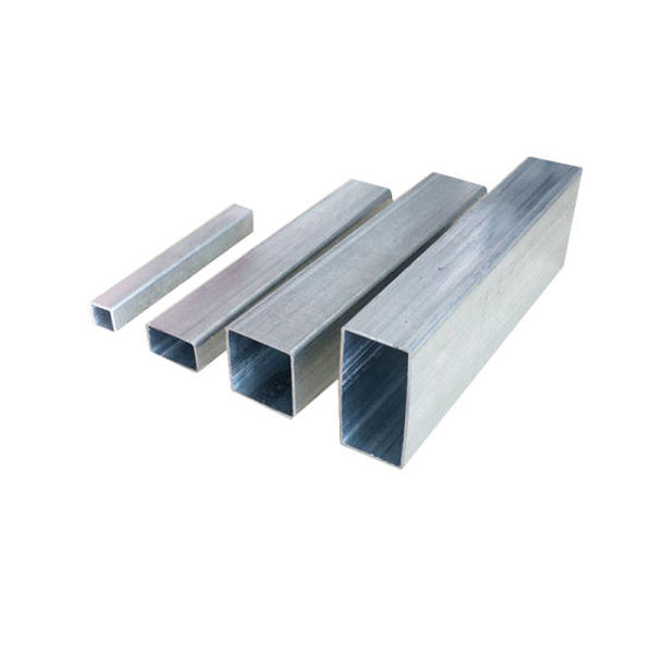 30g 40g 50g 60g zinc steel rectangular gi metal iron square pipe tube / black iron galvanized square hollow section