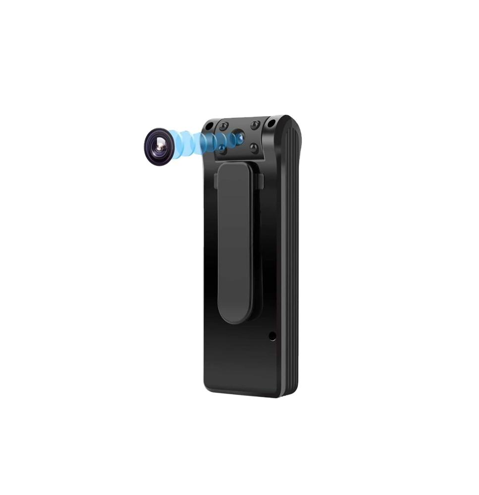 Body Camera 6 Hours Battery Life 1080P Spy Camera No WiFi Needed Motion Detection Personal Camera for Home an