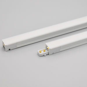 Linkable ultra slim mini thin aluminium profile white uvc disinfection lamp kitchen shelf under led cabinet light