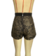 Casual Shorts With Gold Lace