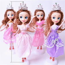 Hot selling Cartoon dolls Sofia The First Plastic doll for girls Baby dolls wholesale price