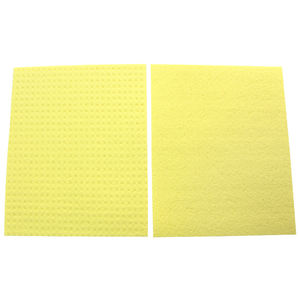 Exact delivery dishcloth compressed cellulose sponge cloths for plate clean
