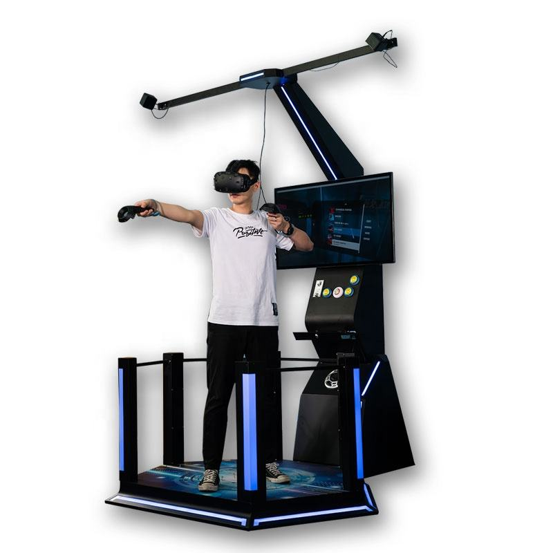 Commerciële Interactieve Arcade Game Vr Station Virtual Reality 9D Vr Simulator Shooting Games