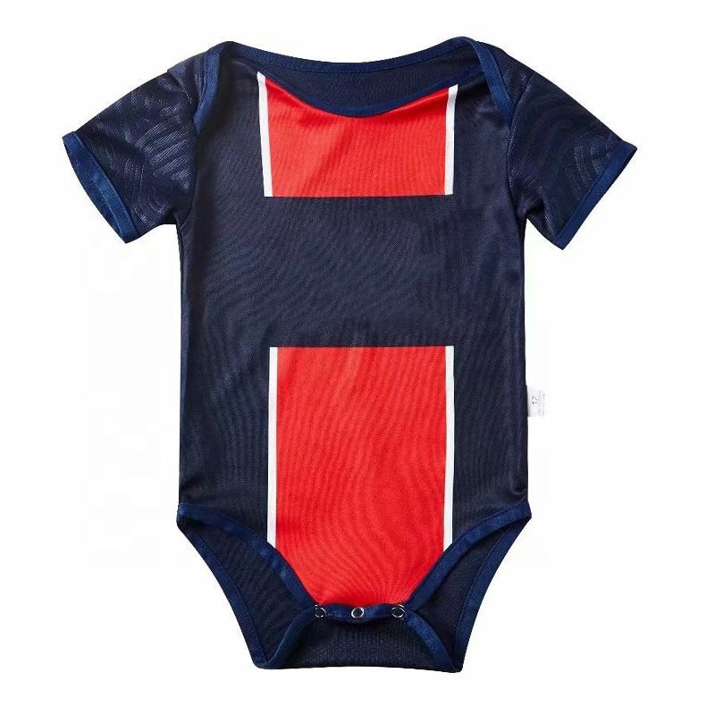 Wholesale Baby Wears soccer print one piece baby clothing