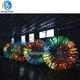 Glow Fluorescence Inflatable Body Zorb Ball for Bowling
