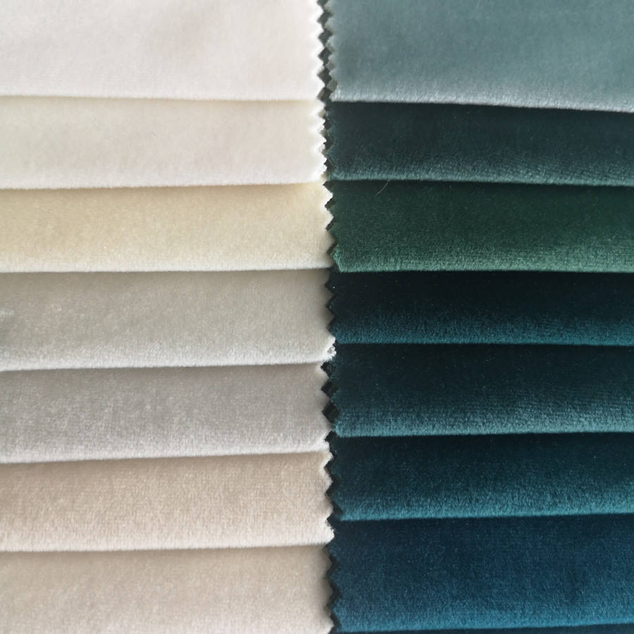 270gsm italian soft shining velvet textiles and fabrics home