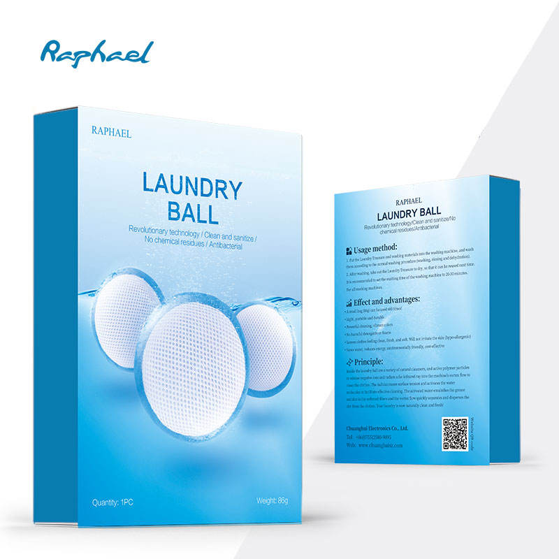 Laundry [ Eco Laundry Ball ] H2 Life ECO Laundry Ball Reusable 600Times For Washing Machine