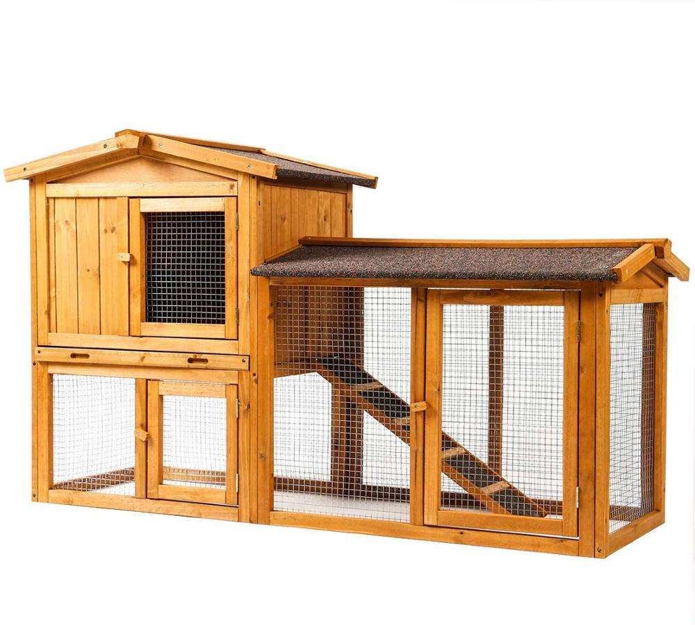 Waterproof Large Chicken Coop Wood Hen House Pet Shelter For Small Animal