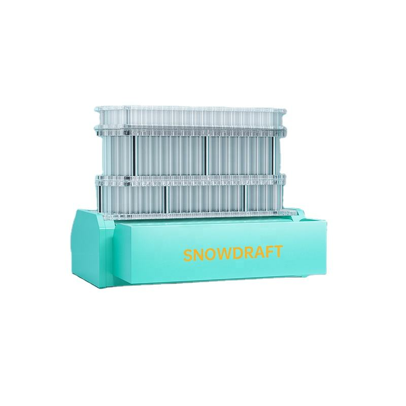 A FREE SHIPPING up to 100pcs in 2 minutes SnowDraft Knockbox 3 Standard Pre Roll cone rolling filling making Machine kits