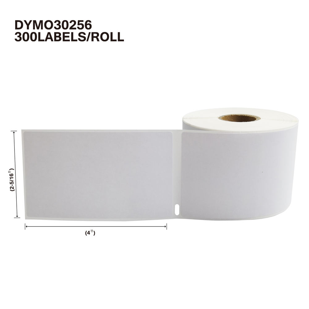 30256 Dymo Compatible Thermal Labels 2-5/16 x 4 for Address&Shipping, Blank Label