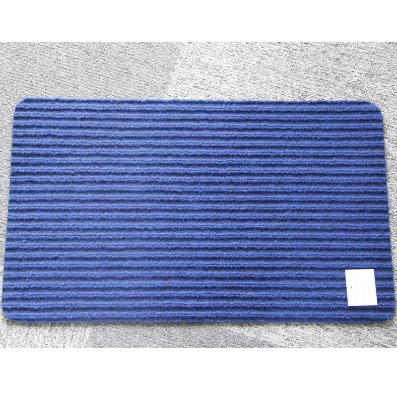 Good quality Water absorption Exhibition Long lasting single striped carpet rugs