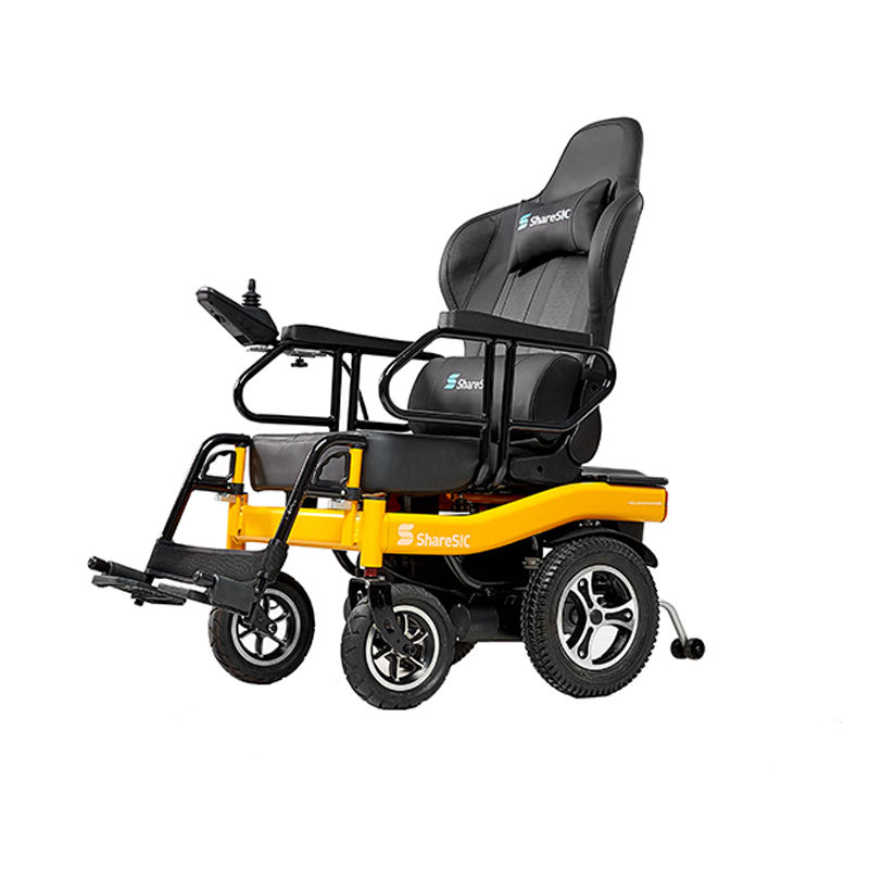 Factory Price Racing Chair Type Foldable Motor Electric Smart Wheelchair For Rehabilitation