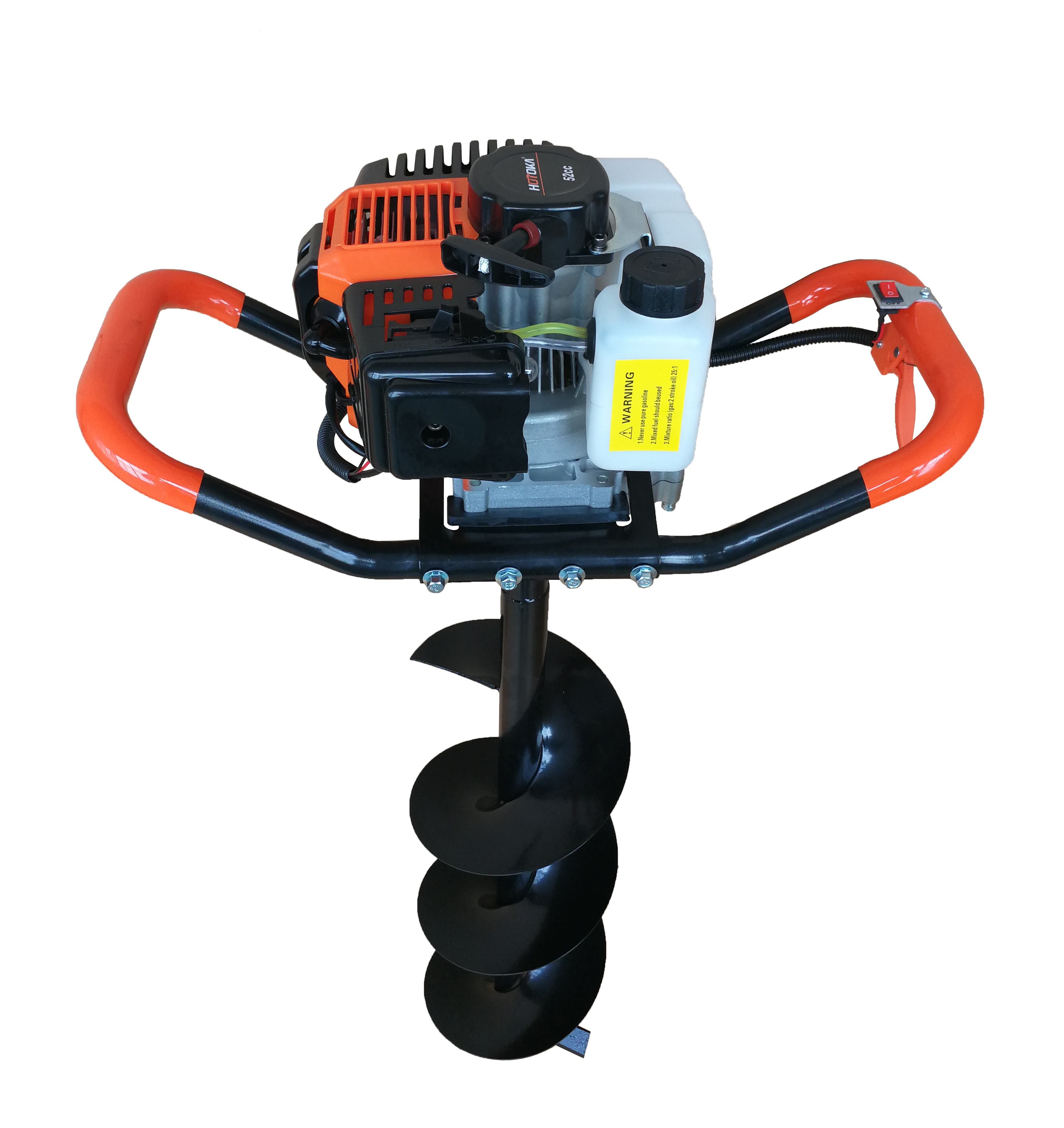 Hot sale 52cc Gasoline Earth Auger Hole Digger Ground Drill