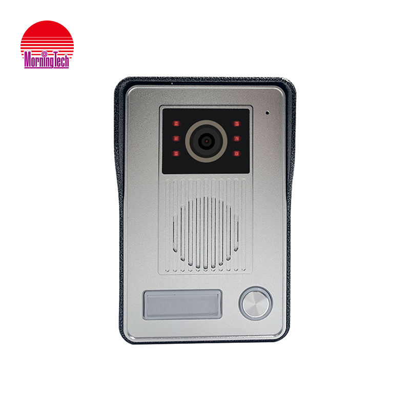Morningtech smart home camera video intercom aluminum alloy panel IP 65 waterproof IR night vision video door phone