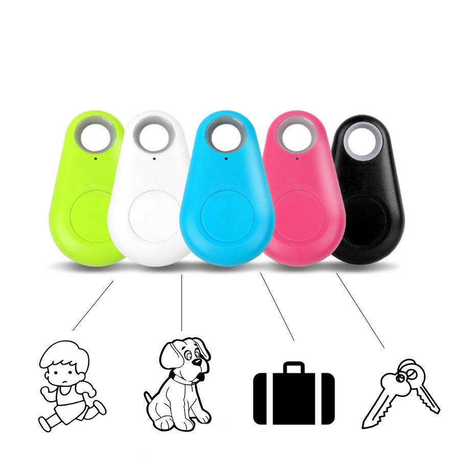 GPS Keychain Locator Anti Lost Alarm Wireless Itag Tracker Remote Itrack Smart Bluetooth Key Finder For Child Wallet Pet Dog