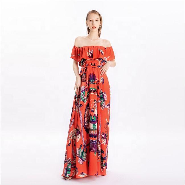 100 pcs wholesale bohemian short dresses maxi long dresses bulk cheap