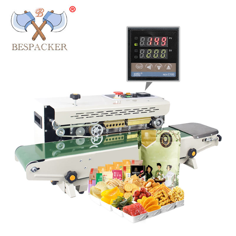 Bespacker continuous plastic bag sealer FR-900W
