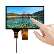 7 inch 1024x600 50 pin tft lcd display screen panel advertising i2c touch display for industrial touch screen handheld devices
