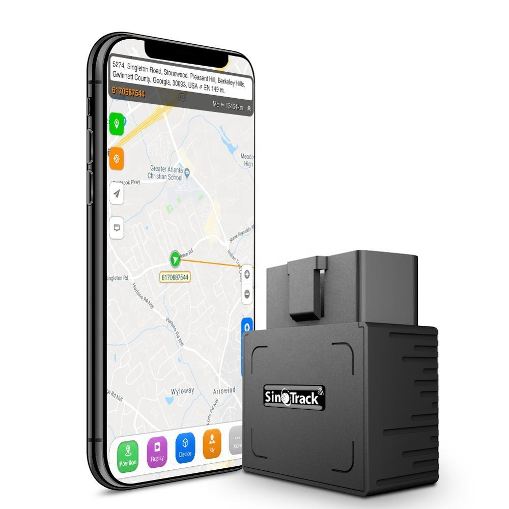 SinoTrack ST-902 OBD Anti-Theft Free APP Real Time Vehicle Car GPRS GPS Tracking Device