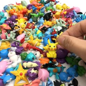Goedkope 144 Pcs 2-3 Cm Pop Pvc Mini Pikachu Pocket Monsters Speelgoed Anime Pokemon Action Figures Voor Kid