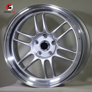 FS144 18inch enkei rp1f performance 5*114.3 silver alloy wheels for sports and racing car wheels mags rims