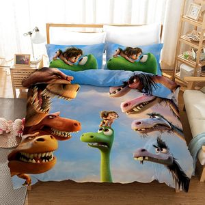 Kinderen Beddengoed Set Cartoon Dekbedovertrek 3d, Gewatteerde Laken Set, Sabanas O Ropa De Cama