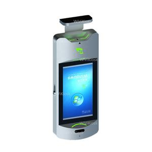 21.5 Inch Automatic Hand Sanitizer Dispenser Iklan LCD Display Digital Signage Kios dengan Sabun Cair