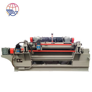 4 Feet spindless pine rotary cut veneer machinery for LVL plywood production