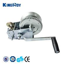 KINGROY easy handling 2000lbs steel cable boat anchor winch