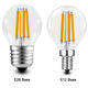Rohs Bulbs 3000k 4000k 5000k Bulb 7w 806lm G45 Bulbs Led Filament 2700k 3000k 4000k 5000k Globe Led Light Bulb E12 E26 Base