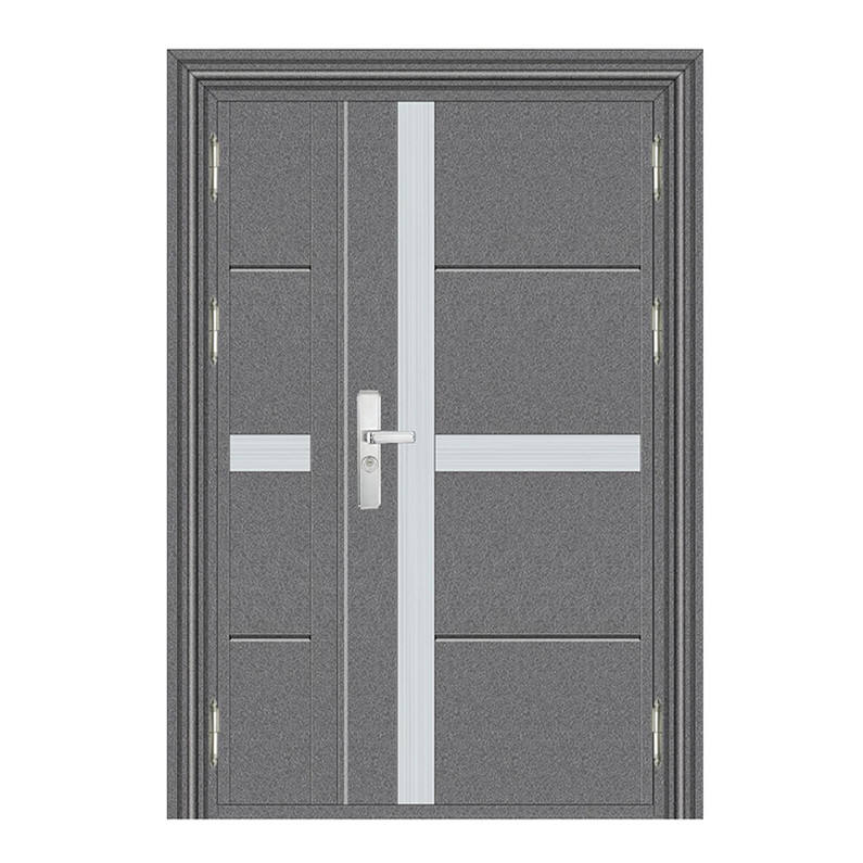 Custom iron door double design exterior bulletproof door for home