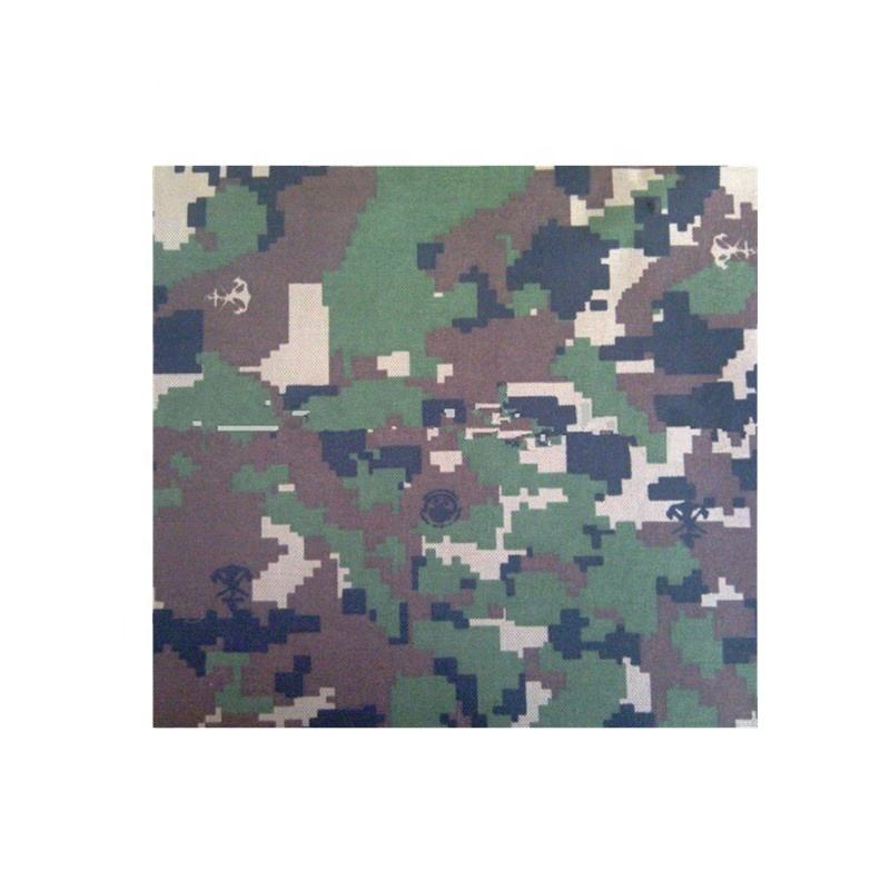 Cotton Poly Blend Mexico Camouflage Military Fabric