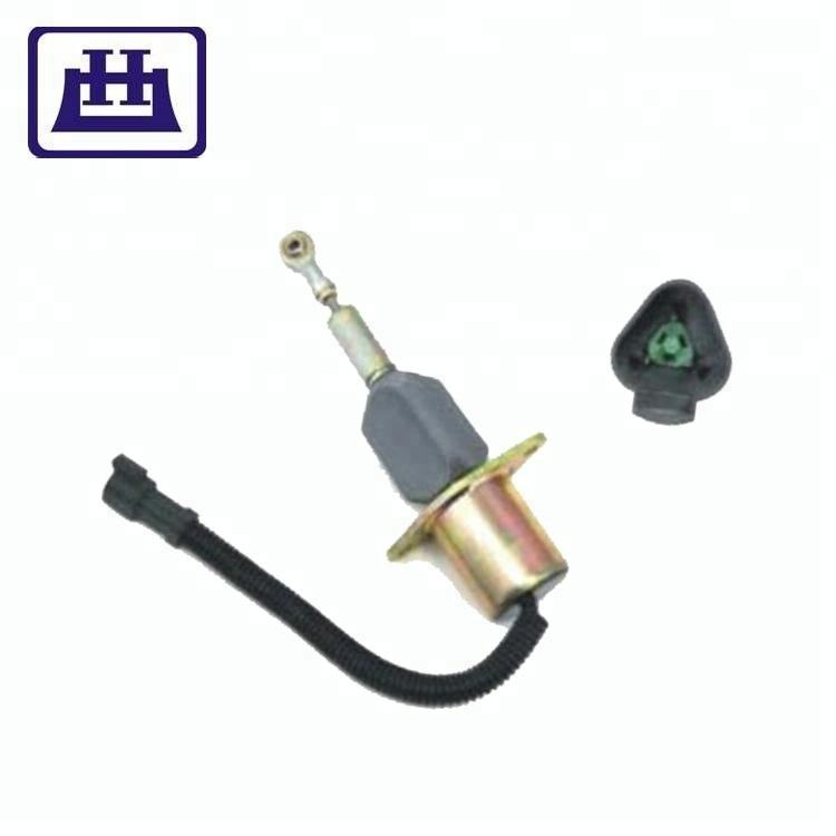 4063712 6743-81-9141 SA-5030-24 24V Stop Solenoid for Komatsu Engine PC300-7 PC360-7 for Cummins 6CT 8.3L