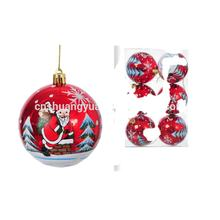 OEM/ODM wholesale 3cm 4cm 6cm 8cm 10cm christmas tree decorations hanging ornaments plastic balls