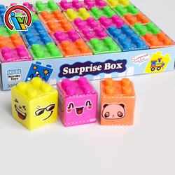 Intelligent Building Block Surprise Candy Toy China Toy Candy Manufacturer