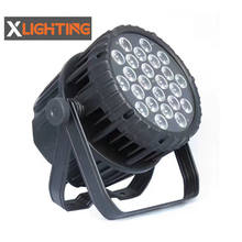 24x18w RGBWAUV 6in1 par light outdoor waterproof led par light