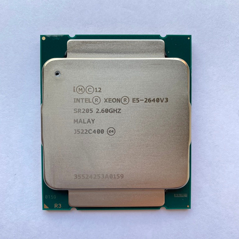 Processador Intel Xeon E5 2640 v3 para dell rack/blade server cpu